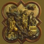 sacrifi d'Isaac per Ghiberti